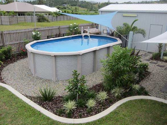 Above ground pools cookes pools spas for Most popular above ground pools