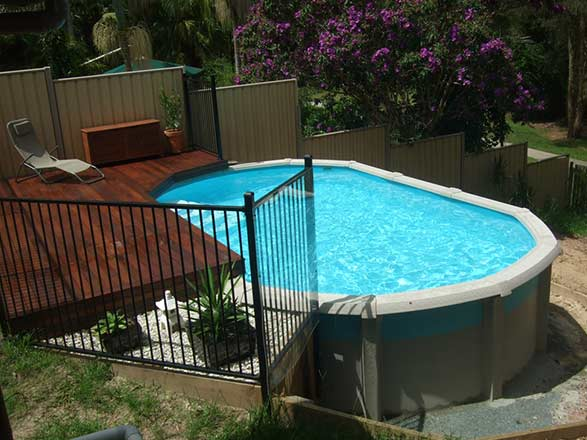 Above Ground Pools Cookes Pools Amp Spas