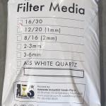 Filter Sand 16/30 Grade