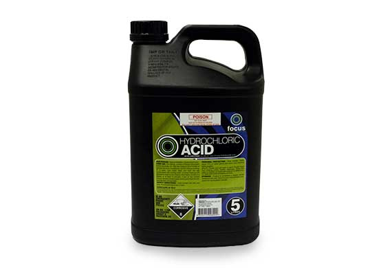 Full Strength Hydrochloric Acid 5L