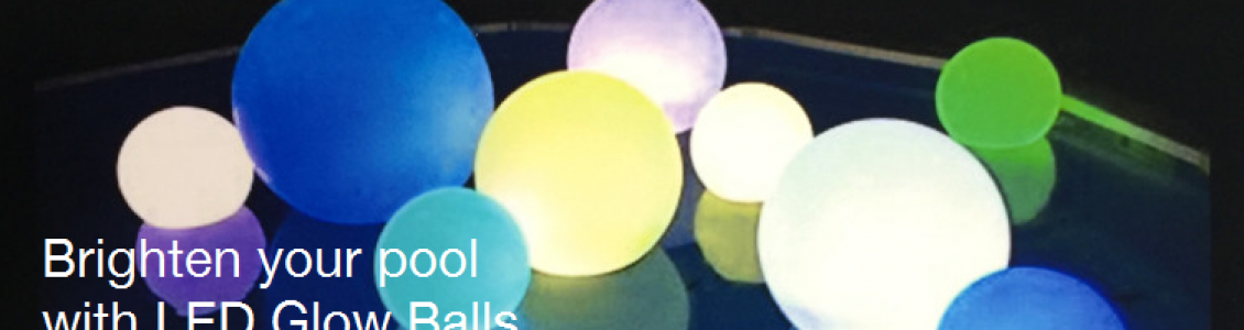 LED Glow Beach Ball